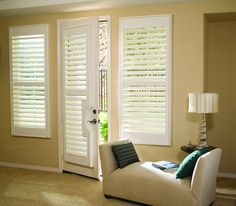 Can you add to door?  Plantation Shutters Design Ideas, Pictures, Remodel and Decor