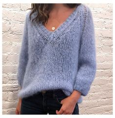 Mohair Sweater, Knit Cardigan, Pullover Sweaters, Knitting Sweaters, Lace Knitting, Winter Sweaters, Sweaters For Women, Jumper Knitting Pattern, Pattern Shorts
