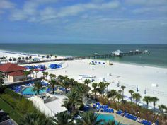 View from the Hilton Clearwater Beach Resort