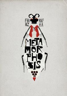 "Franz Kafka's ""Metamorphosis"" by Christos Kourtoglou - Love this cover."