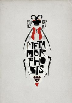 "Franz Kafka's ""Metamorphosis"" by Christos Kourtoglou - Love this cover."