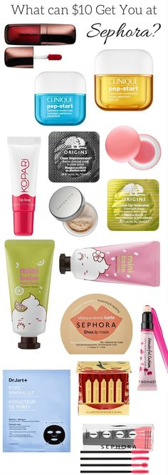 Best bargain, cheap skincare, makeup, hair products at Sephora! How to save money at Sephora. Fashion And Beauty Tips, Diy Beauty, Beauty Makeup, Beauty Hacks, Daily Makeup, Makeup Tips, Korean Makeup Tutorials, Cosmetic Design, Pores