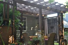Beautiful Patio Garden Deck pergola has sentimental value