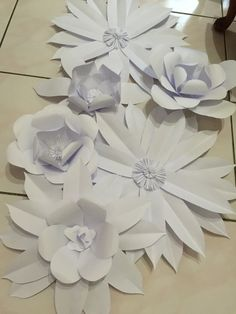 Flower paper is quite easy! Try it!