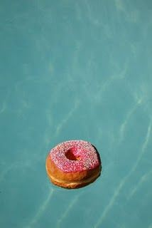 """""""j. russell"""" what a waste of a perfectly good doughnut, it's totally going to taste like chlorine now gross. :("""