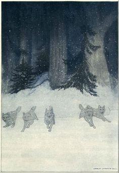 Illustration by Charles Livingston Bull.