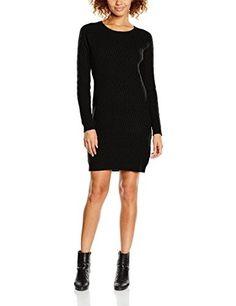 Vestido negro  #modamujer #amazonmoda #vestidos #colección20172018 #outfits #fashion  #moda #shopping #style #mujer #invierno #ropa #ropaparaaltas #casual #vestidonegro