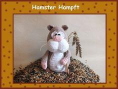 Häkelanleitung Hamster Hampft made by Babsie's Hook via DaWanda.com