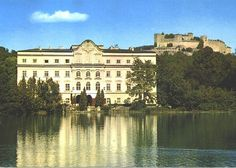 Von Trapp house, Salzburg, Austria. Sound of Music.