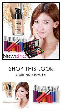 """""""NewChic #21."""" by belma-cibric ❤ liked on Polyvore featuring beauty"""