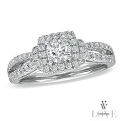 Vera Wang designs wedding rings! Of course she does!