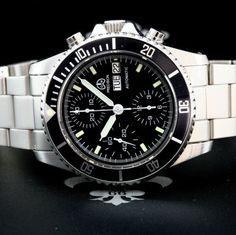 OLLECH-WAJS-Swiss-NOS-Precision-Ref-3066-Chronograph-D-D-Watch-Valjoux-7750