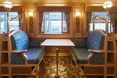 幻の豪華列車《或る列車》でスイーツの旅に出かけませんか? | カーサ ブルータス Casa BRUTUS Kyushu, Shimla, Expresso, Environmental Art, Train Travel, Train Station, Japan Travel, Thesis, Script