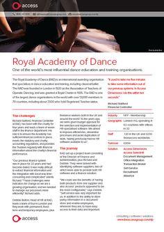 Royal Academy of Dance - Dimensions & SelectHR