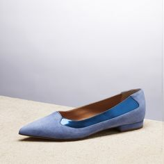 DOWN TOWN FLAT BLUE _ SPRING SUMMER 2015 COLLECTION | #altiebassi #spring #summer #2015 #sophisticated #italianshoes #woman