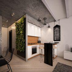 Интерьер небольшой квартиры 48 кв. м.