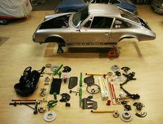 German Muscle. Porsche in bits