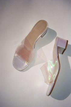 c74fd066726dd9 Agatha Slide - Opal Plastic - Lisa Says Gah Minimal Fashion, Minimal Style,  Business