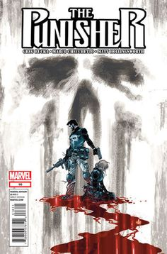 PUNISHER Vol8 16 (2012) | Beautiful COVERS of Marvel COMICS
