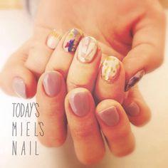 Nail art from my private nail salon, MIEL.