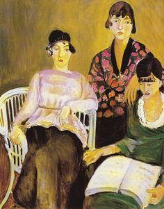 Les trois soeurs, di Henri Matisse, museo dell'Orangerie di Parigi