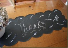 A Runner of Thanks for Thanksgiving by Finding Home