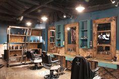 Рабочее место барбера Beauty Salon Decor, Beauty Salon Interior, Salon Interior Design, Salon Design, Barber Shop Interior, Barber Shop Decor, Salon Stations, Barber Haircuts, Art Loft