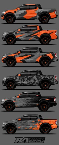 car wrap design Here we have the RA Graphic Pack 6 Camo pack, simple bold and effective camo perfect for use as a full wrap design or to ad some texture into you designs Supplied in Ai and PDF file format Ford Ranger, Custom Trucks, Custom Cars, Carros Lamborghini, Lamborghini Gallardo, Camo, Navara D40, Vintage Jeep, Maserati Ghibli