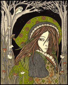Anita Inverarity INK on illustration board - Поиск в Google