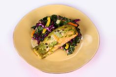 Baked Salmon drenched in lemon is a dish you wont want to miss!