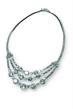 Diamond necklace belonging to Princess Grace