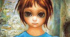 A alma através do olhar das pinturas de Margaret Keane. Inspire-se!