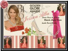 """""""Jessica Alba"""" by loukiaa ❤ liked on Polyvore"""