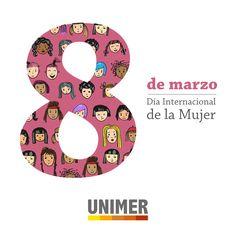 """Desde 1975, el Día Internacional de la Mujer se celebra el 8 de marzo """"para conmemorar la lucha histórica por mejorar la vida de la mujer"""". ¡Felicidades a todas las mujeres que luchan cada día por sus derechos!"""