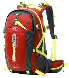 6eb5b96f950b Amazon.com   Duhud 50L Hiking Backpack Travel Daypack Internal Frame Trekking  Bag with Rain Cover for Outdoor Sports Climbing Camping Mountaineering ...