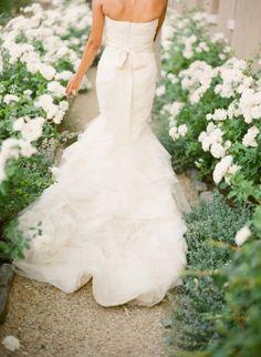 Vera Wang wedding dress / Style Me Pretty Hair Tiara, Bridal Gowns, Wedding Gowns, Wedding Ceremony, Wedding Cake, Perfect Wedding, Dream Wedding, Garden Wedding, Wedding Dress Backs