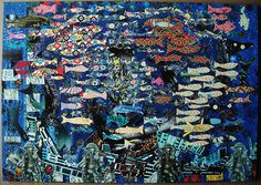 Gerard Carruthers's Submission to In Glorious Colour Spanish Galleon, Painted Paper, Florida Keys, Saatchi Art, City Photo, Illustration Art, Artist, Painting, Keys Art