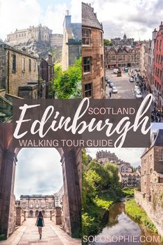 Free and self-guided Edinburgh Walking Tour. Highlights of the capital of Scotland including Edinburgh Castle, Arthur's Seat, Royal Mile & More!