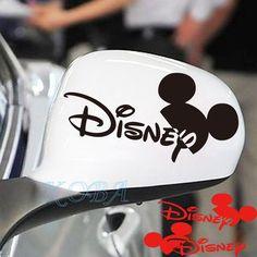 2PCS DISNEY Mickey Mouse Black Car Rearview Mirror Decals Sticker Motors in eBay Motors, Parts & Accessories, Car & Truck Parts | eBay