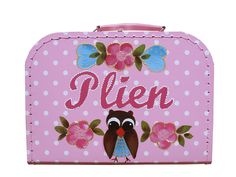 Kids suitcase with name