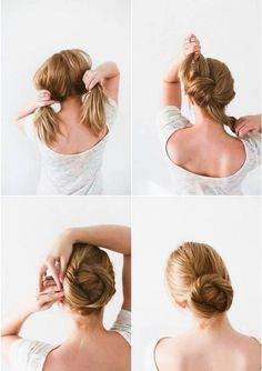 KNOT BUN ||| Quick and Easy Hairstyles for women ||| Step by Step Hairstyles ||| 40 Easy Step By Step Hairstyles For Girls