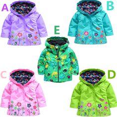 2016 girl's coat and jackets children hoodies kids jackets coats girls outerwear Children's raincoat jacket for boys kids top