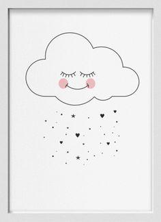 Lief wolkje voor babykamer