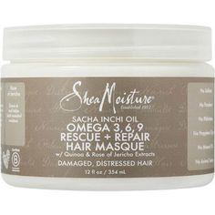 SheaMoisture Sacha Inchi Oil Omega-3-6-9 Rescue & Repair Hair Masque (12 oz.)