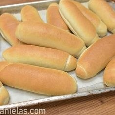 Recipe makes about medium to large hot dog buns.Oven temperature Hot dog buns can be frozen. Vegan Hot Dog Bun Recipe, Hot Dog Roll Recipe, Hot Dog Buns Recipe Bread Machine, Hotdog Buns Recipe, Stuffed Buns Recipe, Bagel Recipe, Dog Bread, Bread Bun, Homemade Hot Dogs