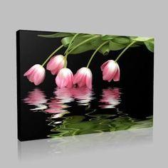 Resultado de imagen de kırmızı çiçek yağlı boya resimleri