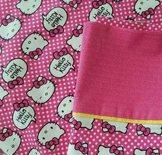 Check out this item in my Etsy shop https://www.etsy.com/listing/465913547/hello-kitty-pillowcase