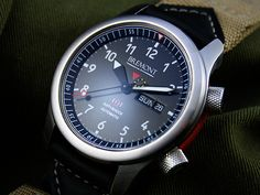 Bremont Martin Baker MB1. 7,000 lives and still counting. MB's products work only once but they must work.