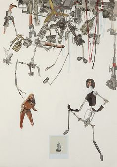 Randy Grskovic's #art #Collages Are Pretty #Cool.