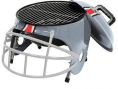 Football Helmet Grill